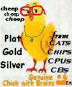 click the chick logo