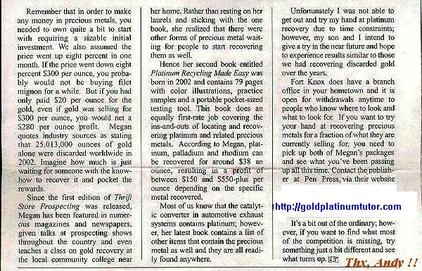 Page 2 of 2 of Sabisch's Review, July 2003